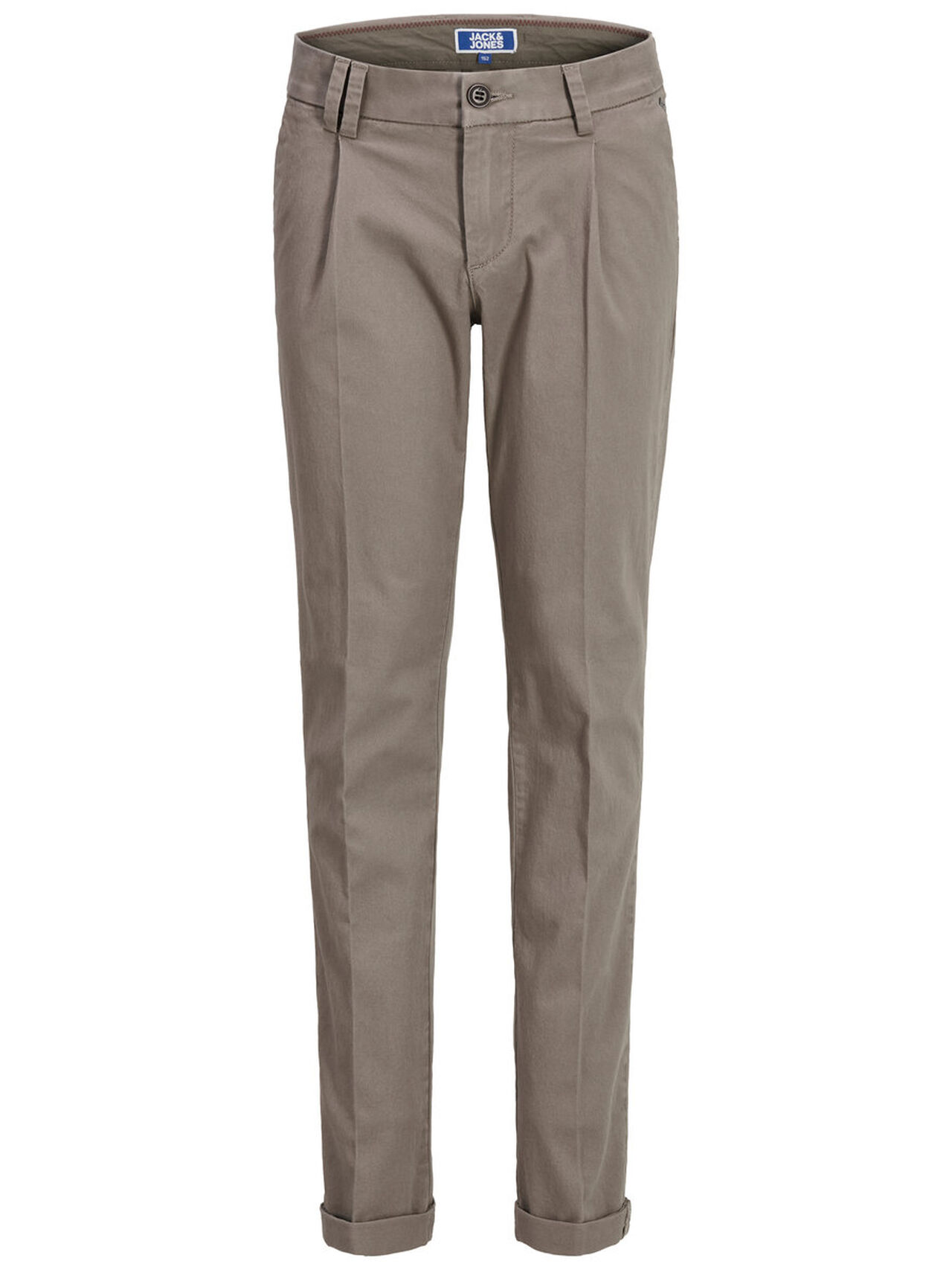 JACK & JONES Boy's Chinos Men Grey