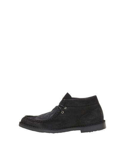 CUIR BOTTINES CHUKKA