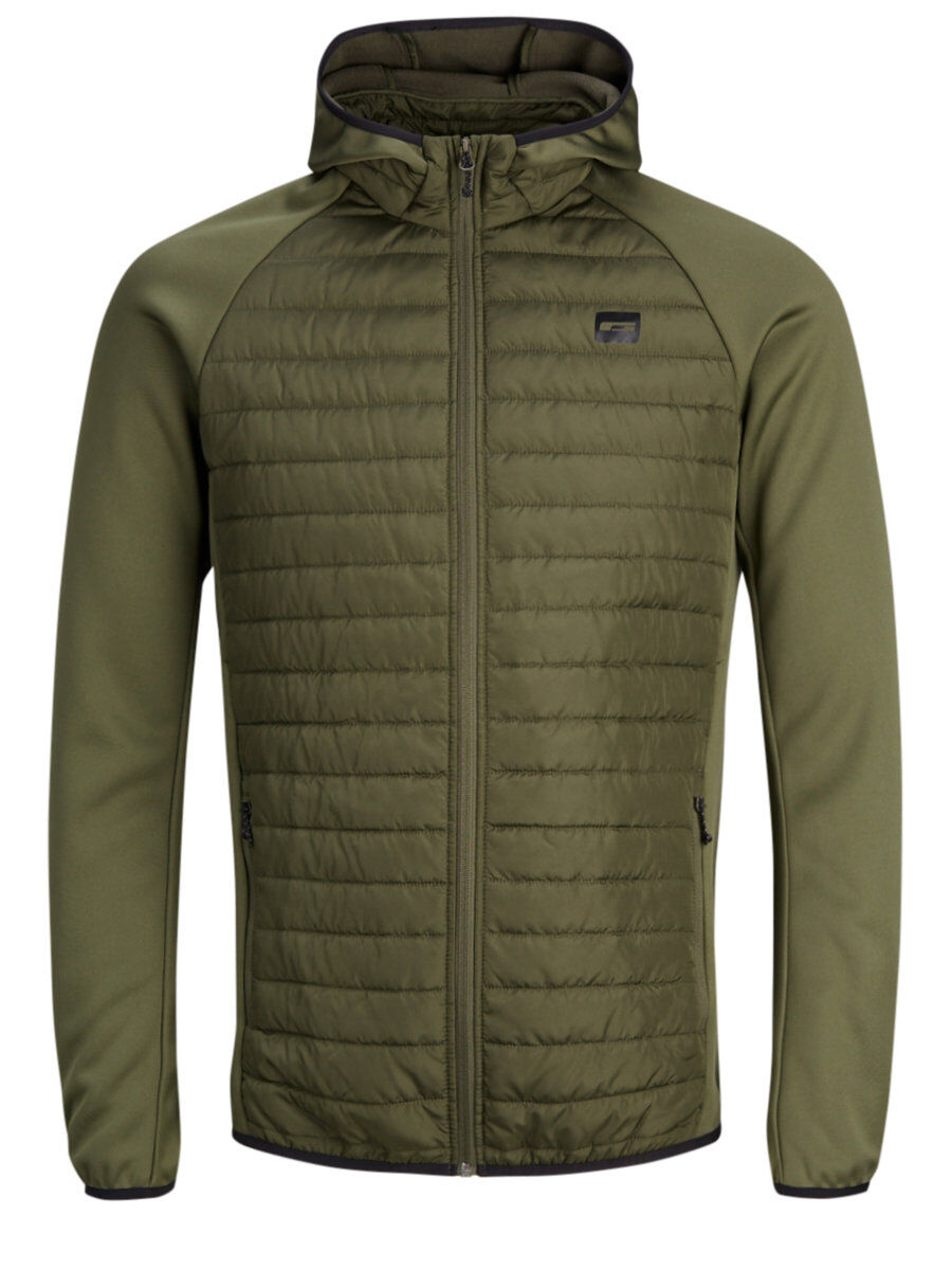 Mens JACK /& JONES Quilted Padded New Fashion Jackets Windproof Sale Size XS-XXL