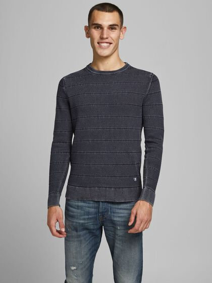 PLAIN KNITTED PULLOVER