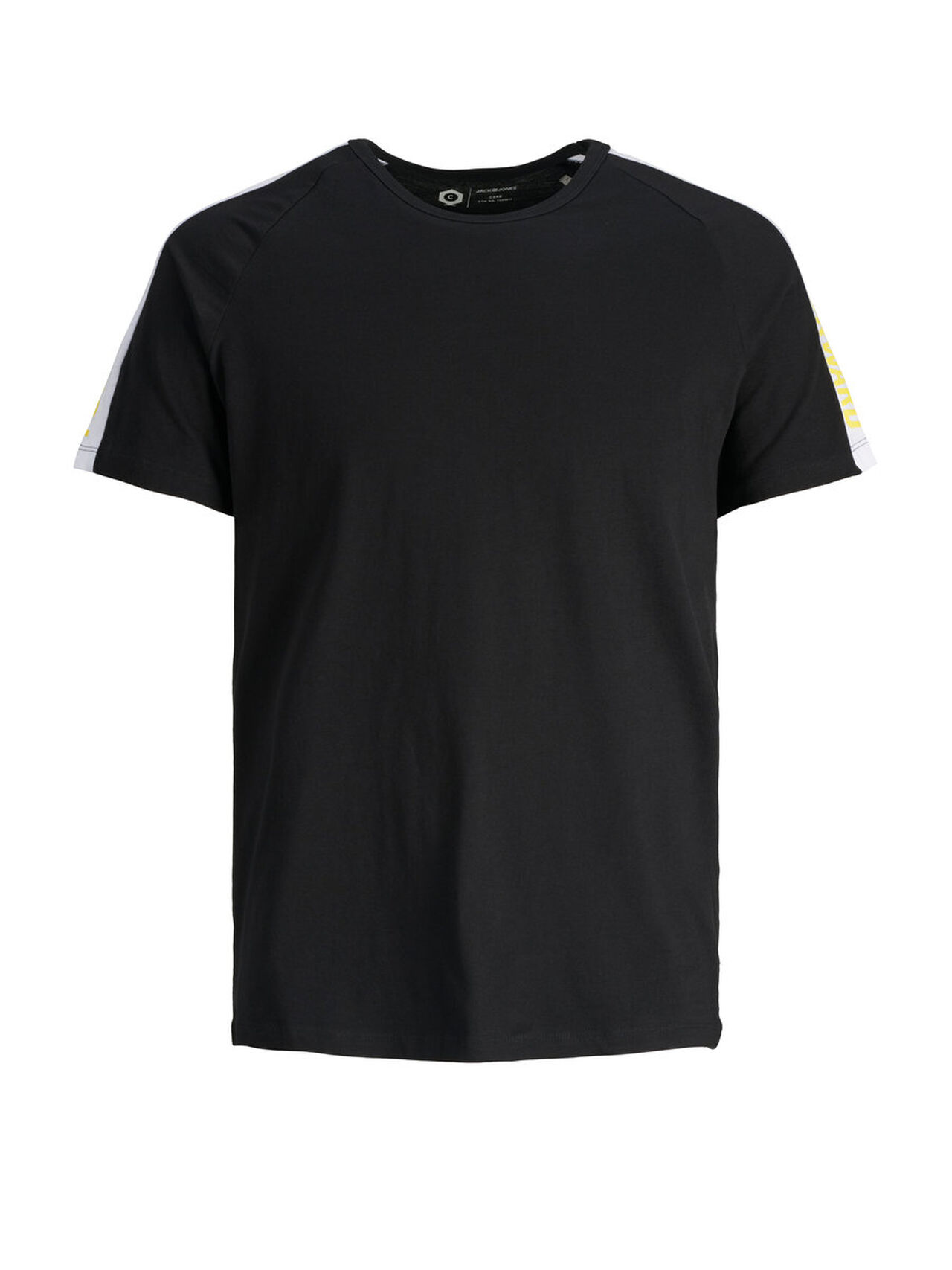 JACK & JONES Crew Neck T-shirt Men Black