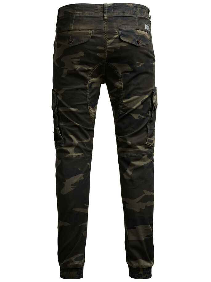 ARMY CARGO PANTS, Green Eyes, large