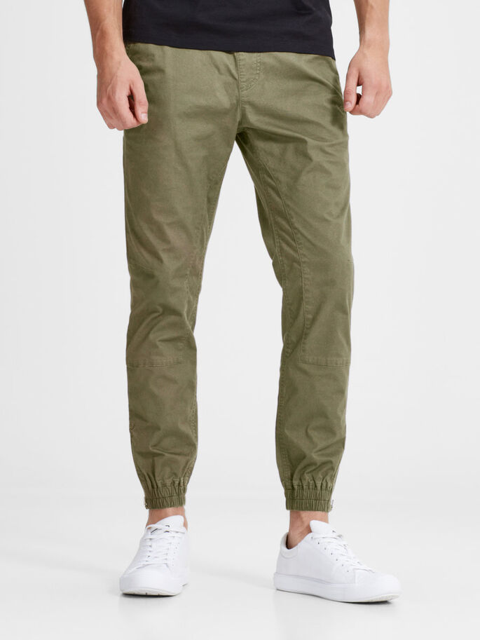 VEGA BOB WW SWEATBROEK, Olive Night, large
