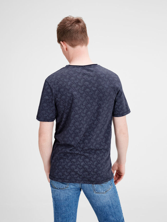 ESTAMPADA CAMISETA, Mood Indigo, large
