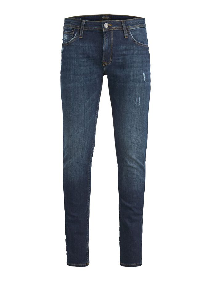 LIAM ORIGINAL CJ 808 SKINNY FIT -FARKUT, Blue Denim, large