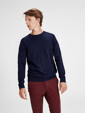 ON-TREND KNITTED PULLOVER