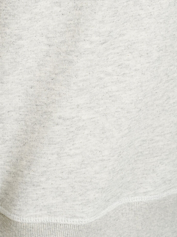 GRAFIK- SWEATSHIRT, Treated White, large