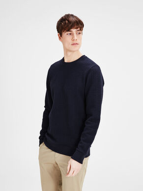 MATELASSÉ SWEAT-SHIRT