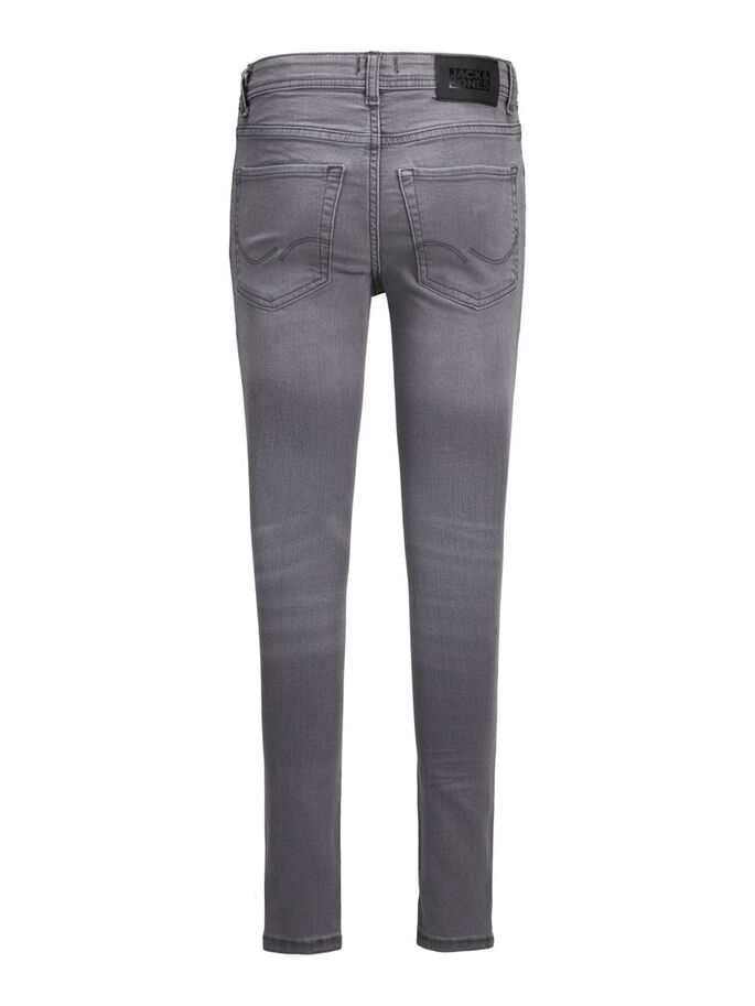 DAN ORIGINAL AM 227 JONGENS SKINNY JEANS, Grey Denim, large
