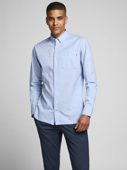BUTTON-DOWN OXFORD OVERHEMD