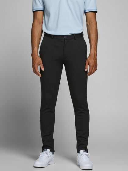 MARCO PHIL BLACK CHINOS