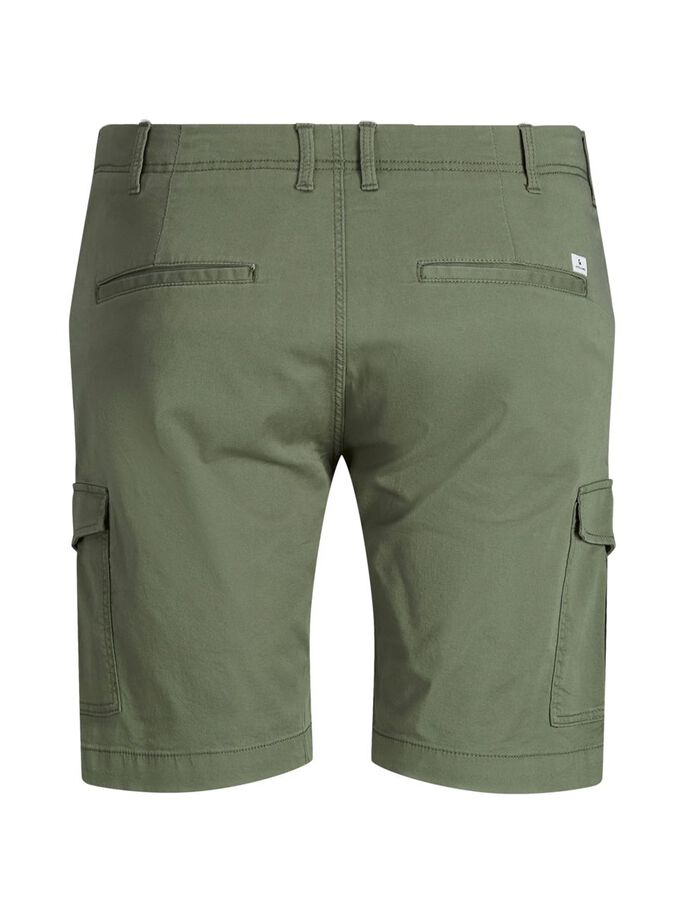 JOE PLUS SIZE CARGOSHORTS, Dusty Olive, large