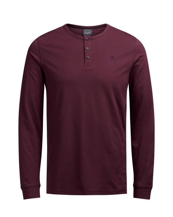GRANDAD LONG-SLEEVED T-SHIRT, Port Royale, large