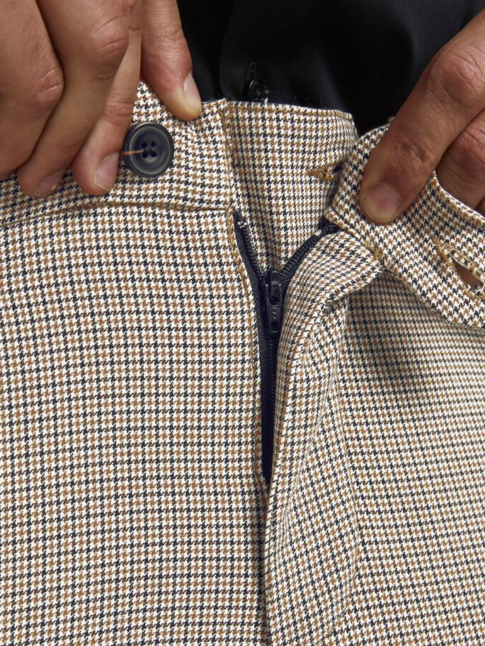 MARCO CONNOR PATRÓN PATA DE GALLO CHINOS, Beige, large