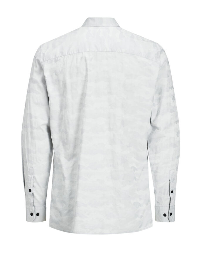 ON-TREND LONG SLEEVED SHIRT, Oyster Mushroom, large