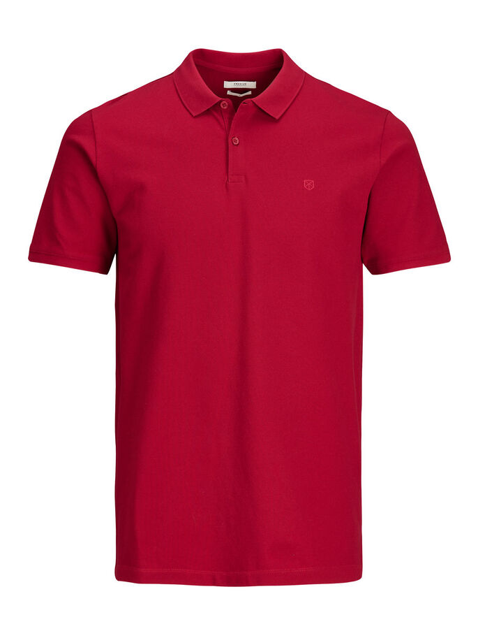 CASUAL POLOSKJORTE, Jester Red, large