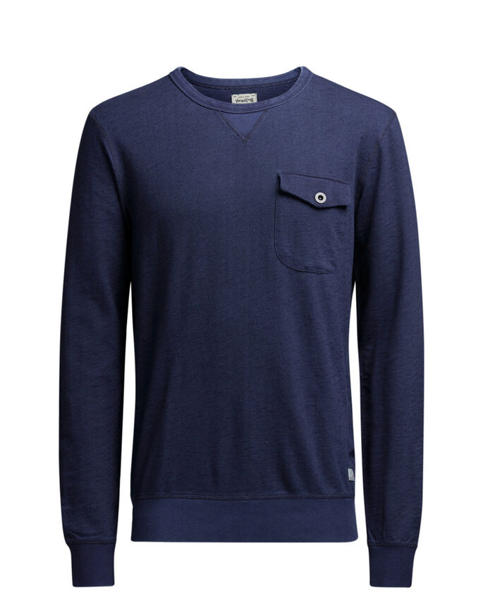 STOER SWEATSHIRT, Mood Indigo, large