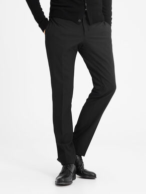 ZWARTE REGULAR FIT PANTALON