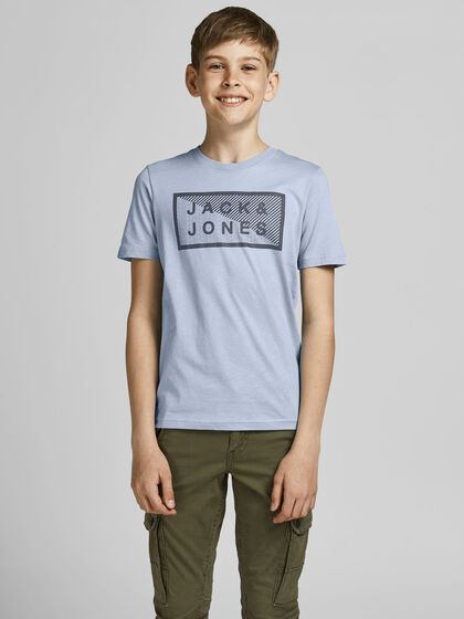 JUNIOR EKOLOGISK BOMULL - T-SHIRT