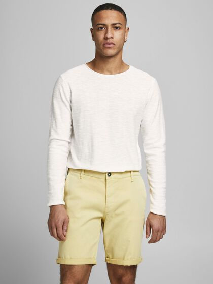 ORGANIC COTTON KNITTED PULLOVER