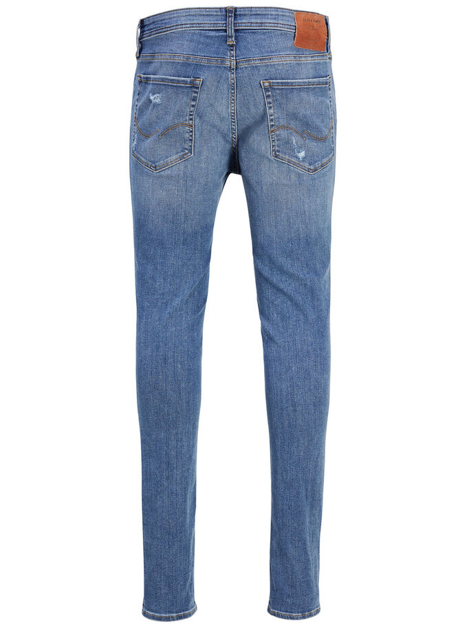 LIAM ORIGINAL AM 506 SKINNY FIT JEANS, Blue Denim, large