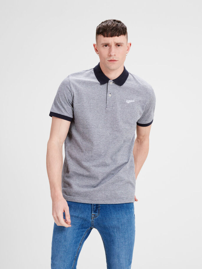 CASUAL POLOSKJORTE, Total Eclipse, large