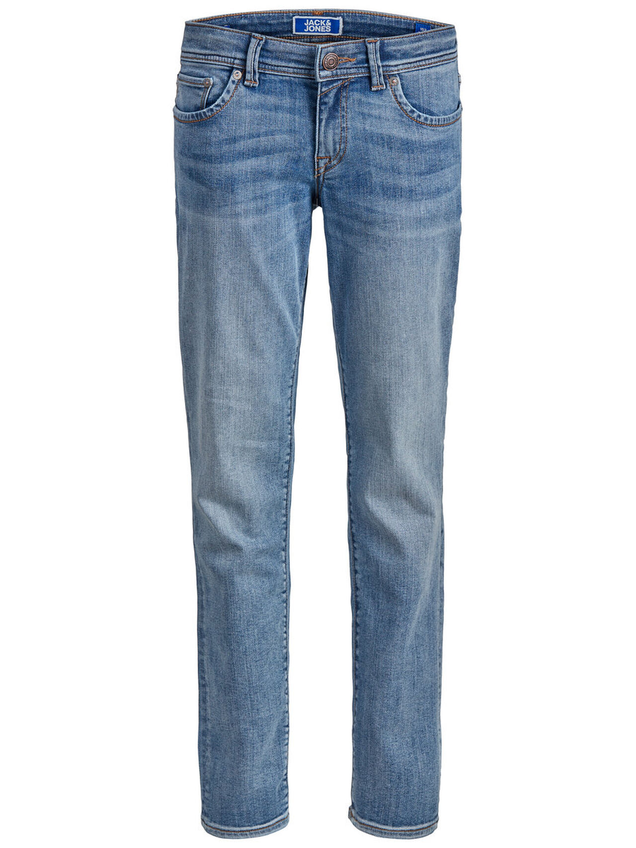 JACK & JONES Slim Fit Boys Slim Fit Jeans Men blue