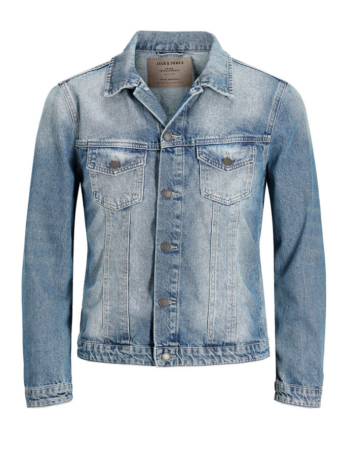 EARL JOS 968 OLAJAKKE, Blue Denim, large