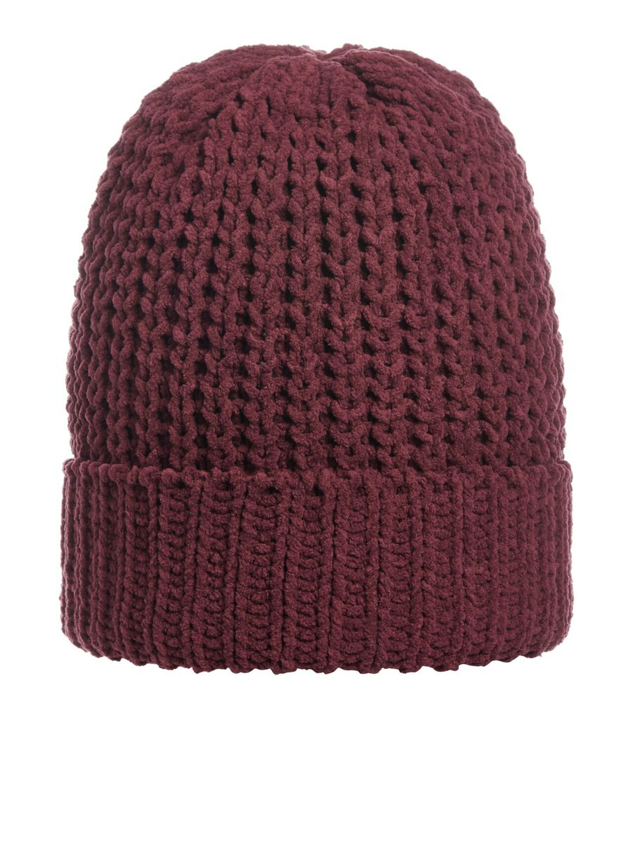 JACK & JONES Knitted Beanie Men red
