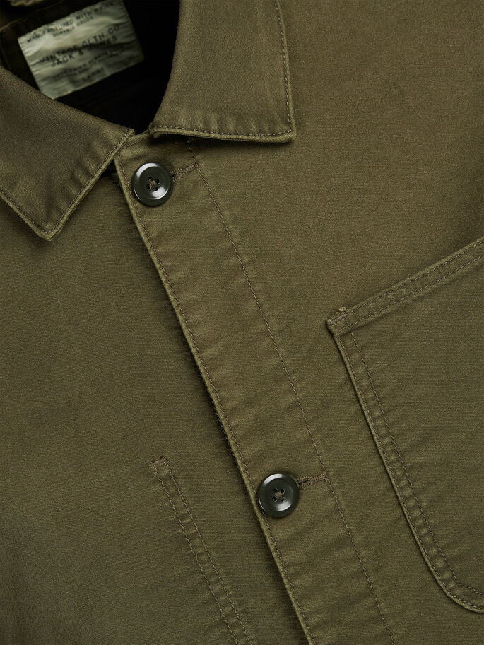 WORKWEAR JAS, Olive Night, large