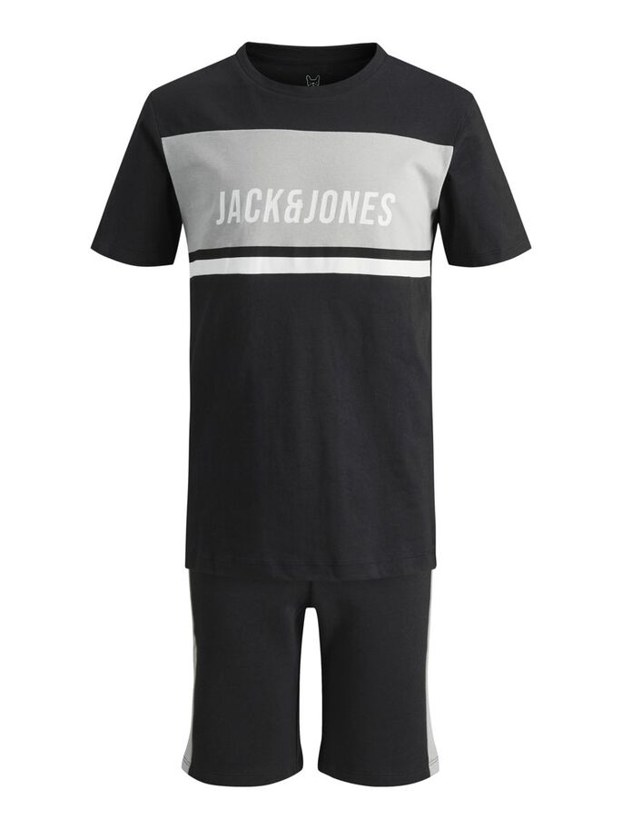 JUNGEN ZWEITEILIG SWEAT T-SHIRT, Tap Shoe, large
