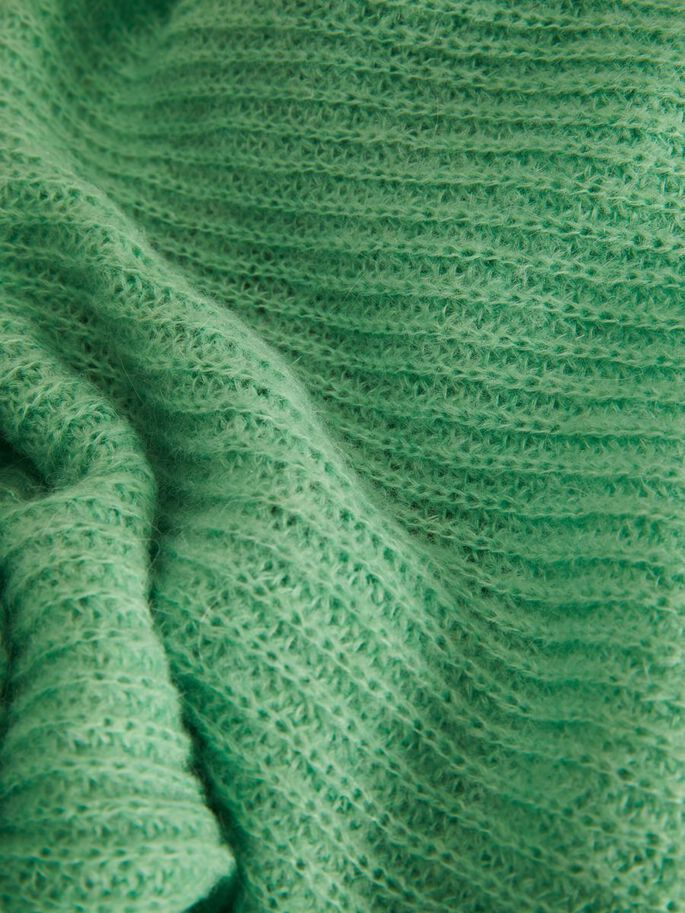 JXNADIA FLUFFY KNITTED CARDIGAN, Absinthe Green, large
