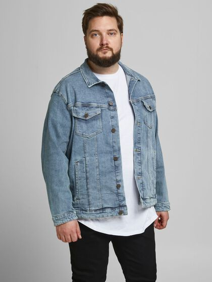 ALVIN 002 PLUS SIZE DENIM JACKET