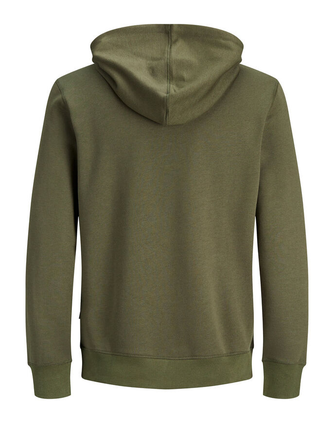 CASUAL SWEATSHIRT, Olive Night, large