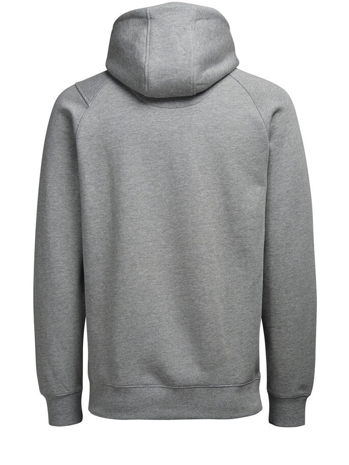CAPUCHE AVEC DÉTAILS SWEAT À CAPUCHE, Light Grey Melange, large