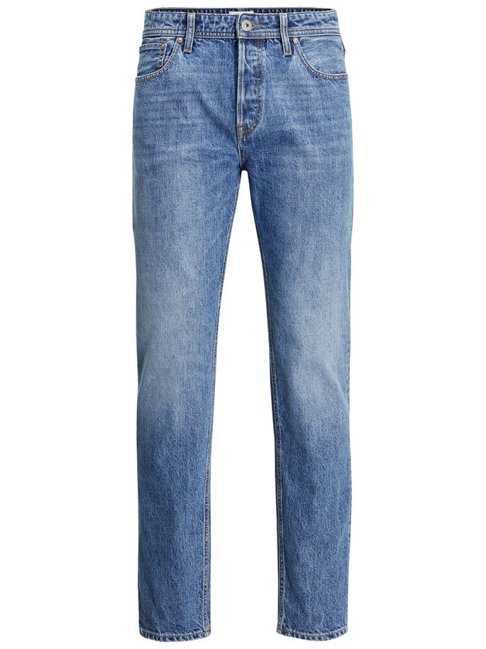 MIKE ORIGINAL AM 048 COMFORT FIT JEANS, Blue Denim, large