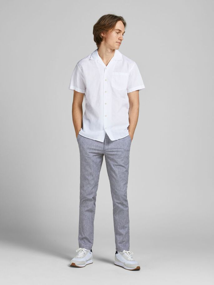 MARCO DAVE LIN CHINOS, Blue Indigo, large