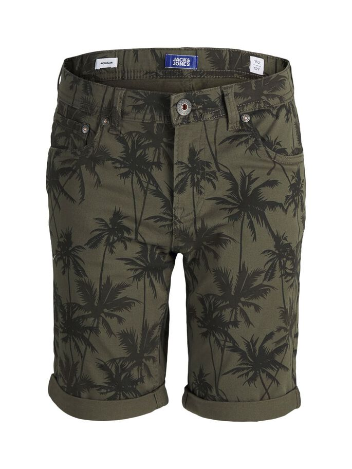 BOYS RICK ORIGINAL DENIM SHORTS, Olive Night, large
