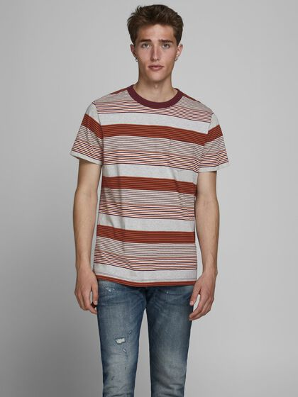 STRIPED REGULAR FIT T-SHIRT