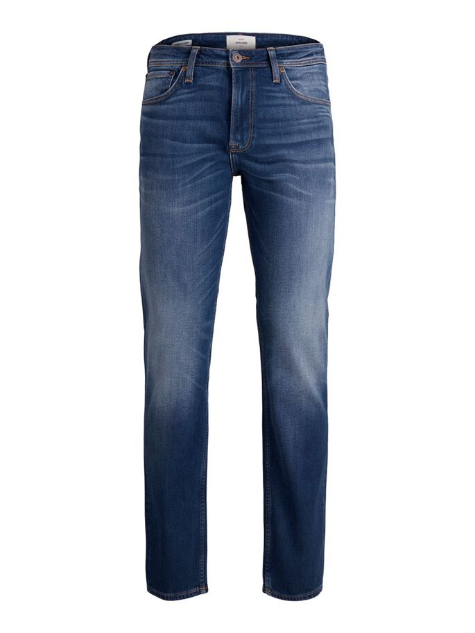 CLARK ORIGINAL CJ 418 REGULAR FIT JEANS, Blue Denim, large