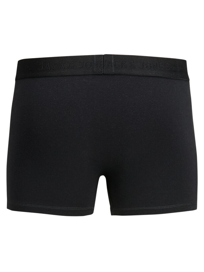 1-PACK BOXERSHORTS, Black, large