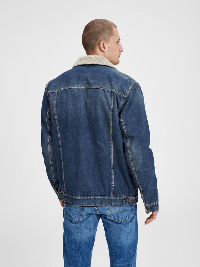 JACK CHAQUETA VAQUERA, Blue Denim, large