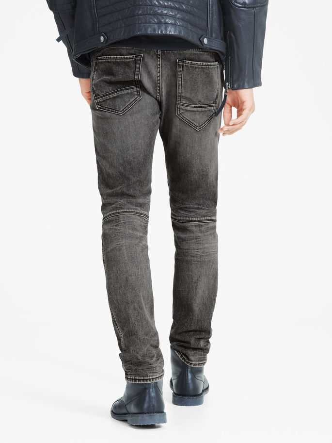 GLENN JAX BL 704 SLIM FIT JEANS, Grey Denim, large