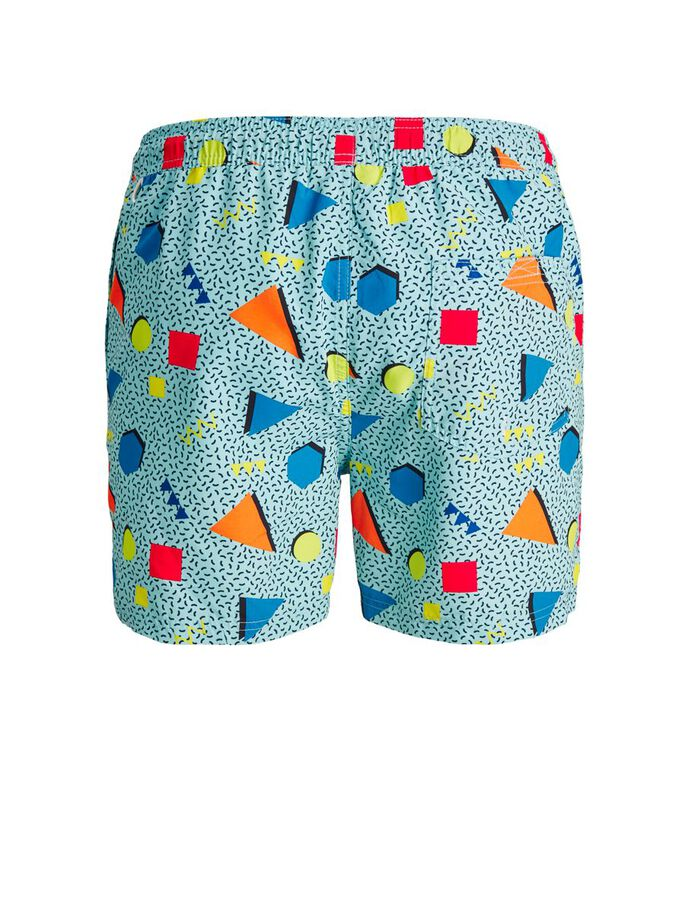 PRINT RECYCELTER POLYESTER BADESHORTS, Petit four, large