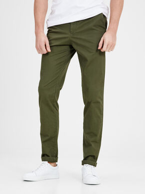 JJIMARCO JJENZO WW OLIVE NIGHT NOOS CHINO