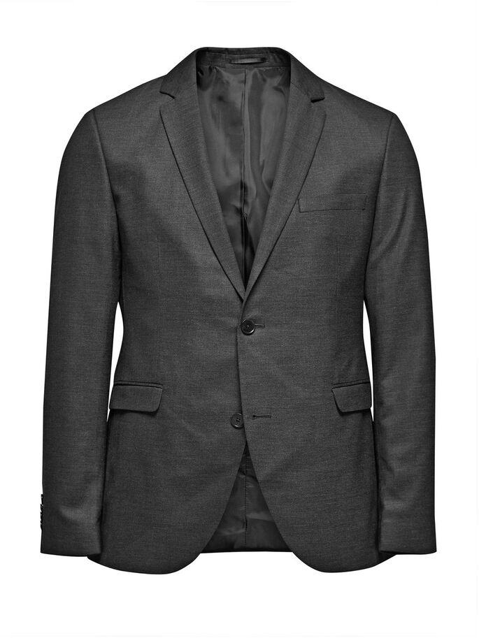 GREY BLAZER, Dark Grey, large