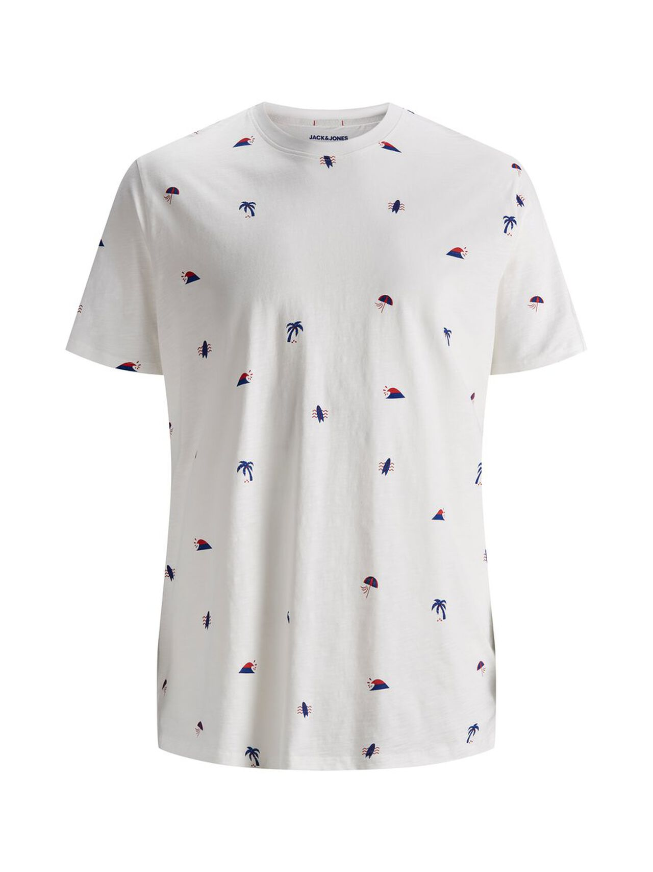 All-over Printed Plus Size T-shirt