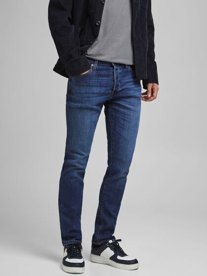 TIM VINTAGE AM 605 JEANS À COUPE SLIM/STRAIGHT