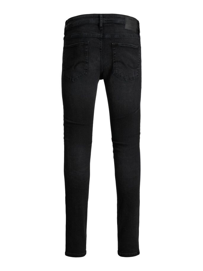 LIAM ORIGINAL NA 097 SKINNY FIT JEANS, Black Denim, large