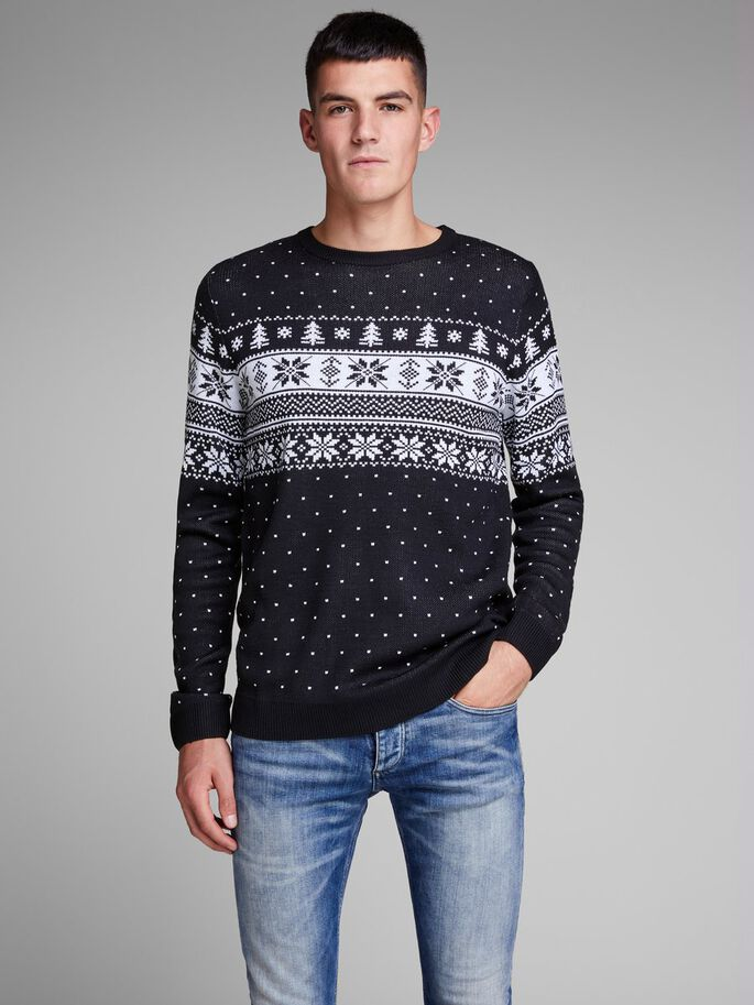 548c63b7491457 X-mas knitted pullover